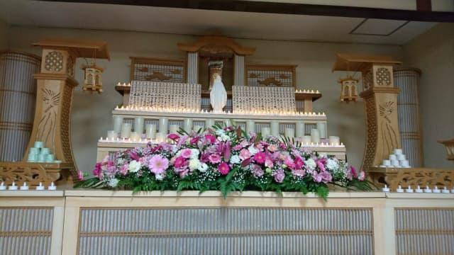 もみじ会館での第2回華の追悼会の様子4