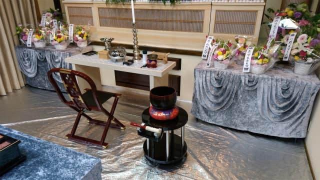 もみじ会館での第3回華の追悼会の様子4