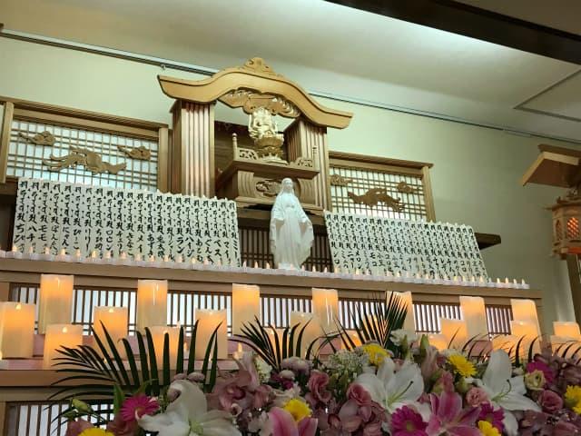 もみじ会館での第5回華の追悼会の様子1