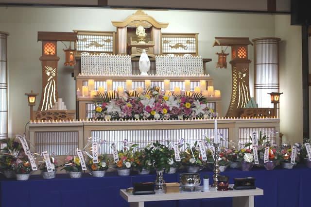 もみじ会館での第5回華の追悼会の様子3