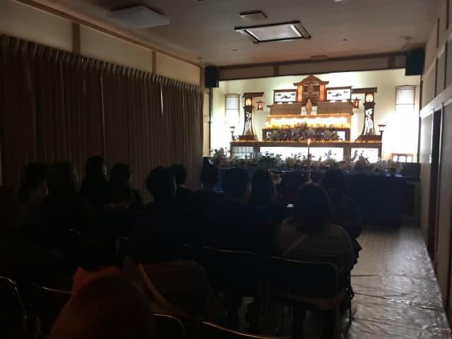 もみじ会館での第5回華の追悼会の様子5